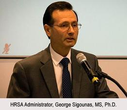 HRSA Administrator, George Sigounas, MS, Ph.D.