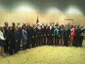 The new travel and tourism advisory board with Commerce Secretary John Bryson