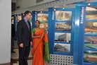Under Secretary Sanchez tours the Larsen & Toubro engineering facility in Chennai (Photo Larsen & Toubro Limited)