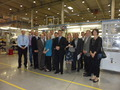 Participants in the Russia Automotive Trade Mission and Deputy Under Secretary O'Neill at Johnson Controls in St. Petersburg.