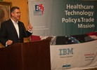 Under Secretary Francisco S�nchez during the Healthcare Technology and Policy Trade Mission (Photo: Eduardo Sanchez)