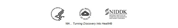 HHS, NIH, NIDDK logos