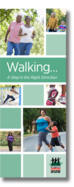 Walking brochure cover