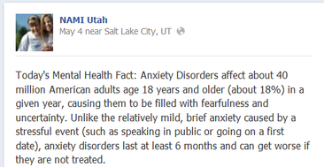 UT Facebook Mental Health Fact