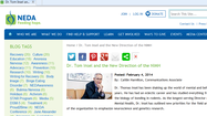 NEDA Webpage