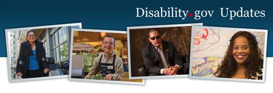 Disability.gov updates