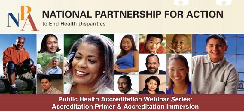 NPA Header for Public Health Accreditation Webinar