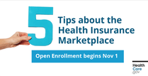 5 tips about the health insurance marketplace