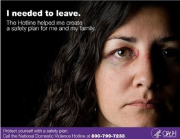 I needed to leave. The Hotline helped me create a safety plan for me and my family.