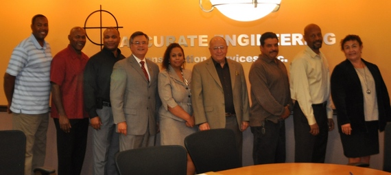 Photo: NAMC members and SBA staff at the strategic alliance signing.