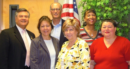 Photo of some of SBA San Diego and SBDC Network staff.