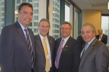Photo: Michael Camuñez, Anthony Wayne, Ruben Garcia and Thomas Topuzes