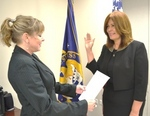 SBA District Counsel Liana González Swears-in María de los A. de Jesús