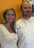 Erin Marqua and Patrick Hickey of Gourmet Bay Catering