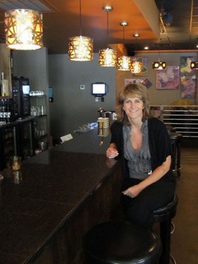Lila Anderson and Nosh Wine Lounge