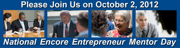 National Encore Entrepreneur Mentor Day