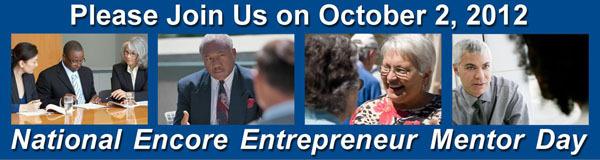 National Encore Entrepreneur Mentor Day