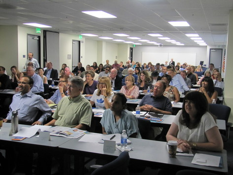 Encore Entrepreneur Mentor Day participants