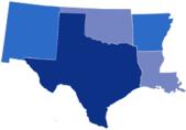 SBA South Central Region - Arkansas, Louisiana, New Mexico, Oklahoma, Texas