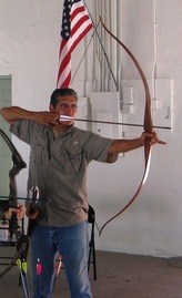 David Garza, owner of Mid Valley Archery
