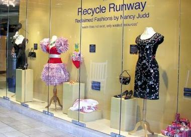 Recycle Runway exhibit