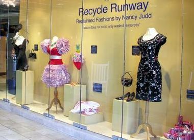 Recycle Runway exhibit
