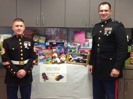 Toys For Tots Campaign SBA Charlotte NC