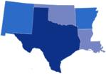 Region 6 States, AR, LA, NM, OK, TX