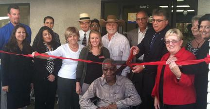Photo: Ribbon Cutting for Grand Opening of New Imperial Valley Small Business Development Center Office