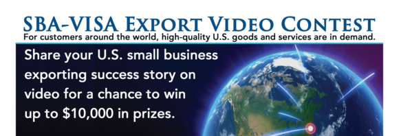 SBA-VISA Video Contest Banner
