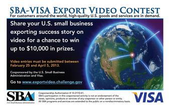 SBA-Visa Export Challenge Flyer