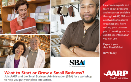 SBA and AARP Host Event