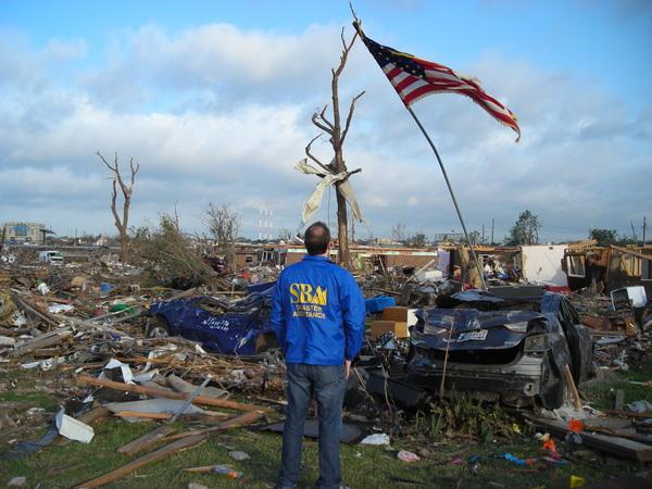 Oklahoma Tornado Disaster Area