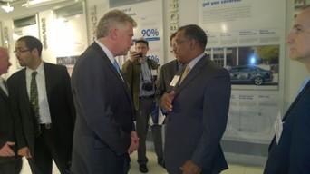Va. Governor Terry McAuliffe and Antonio Doss