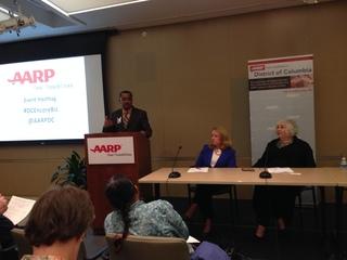 Antonio Doss speaks at AARP
