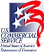 US Commerce Dept. Commercial Services Logo