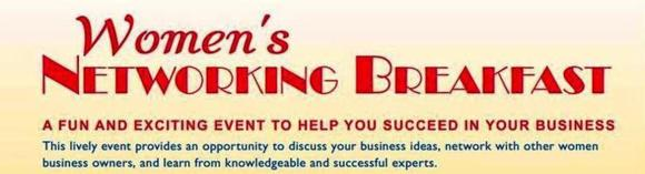 Image: Women's Networking Breakfast (flyer header)