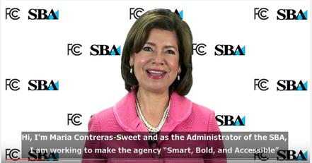 Head Shot of SBA Administrator Maria Contreras-Sweet