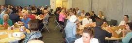 Photo: BOE Event participants enjoying their lunches.
