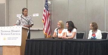 Amanda Brown moderates panel of successful business women