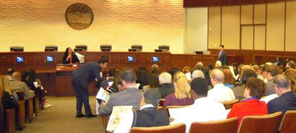 Photo: Standing room only at the Chula Vista Small Business Tax Seminar