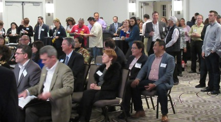 Photo: InBiz Latino Networking Event audience