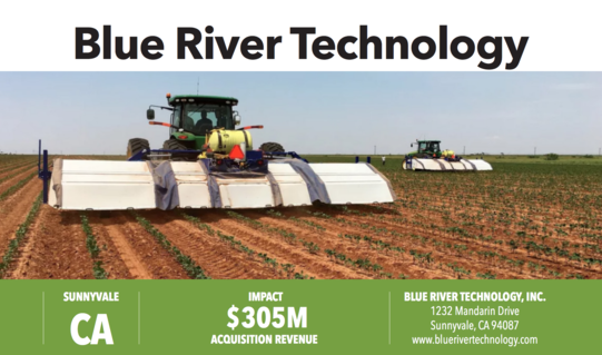 Blue River Technology, image of farm equipment