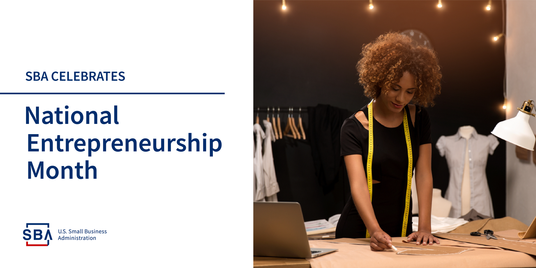 SBA Celebrates National Entrepreneurship Month