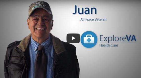 Air Force Veteran Juan