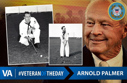 Arnold Palmer - Veteran of the Day