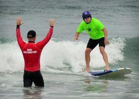 Veterans surfing