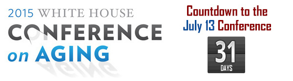 2015 White House Conference on Aging banner image