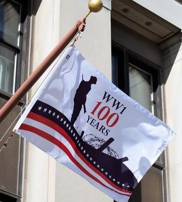 Flag At Legion Headquarters
