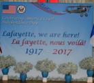 Signage at U.S. Embassy France